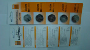 3V Lithium Button Cell Battery Cr2016 pictures & photos