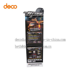 Paper Floor Display Standee Exhibition Display Advertising Board pictures & photos