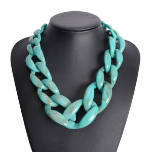 Fashion Acrylic Big Chain Choker Necklace Jewelry pictures & photos