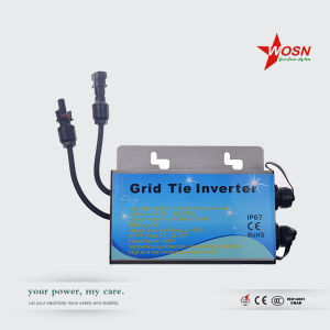 IP67 Waterproof Wmvc-200W 24VDC to 220VAC Grid Tie Micro Inverter pictures & photos