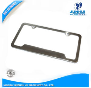 Custom Made Sheet Metal Stamping Car Licence Plate Frame