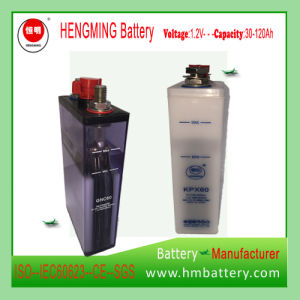 Sintered Type Ni-CD Rechargeable Battery Kpx/Gnc60 for Engine Starting pictures & photos