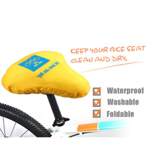 Waterproof Foldable Bike Seat Saddle Cover for Promotion pictures & photos