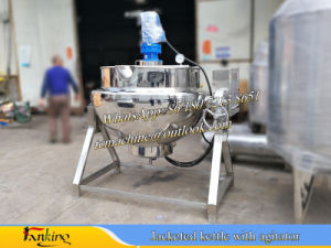 Stainlstss Steel Jacketed Kettle Cooking Kettle 300liter pictures & photos