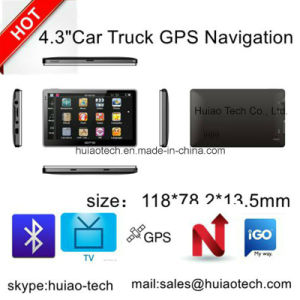 """Cheap 4.3"""" Car Portablet in-Dash GPS Navigator with 128MB DDR, 4GB, FM, Bt, Tmc, ISDB-T TV, GPS Map GPS Navigation G-4306 pictures & photos"""