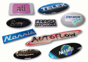 Durable Epoxy Resin Doming Nameplate pictures & photos