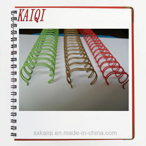 Nylon Coated Double Loop Wire for Book Binding pictures & photos