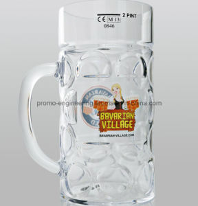 Hot Sale 40oz Plastic Beer Stein with Handle pictures & photos