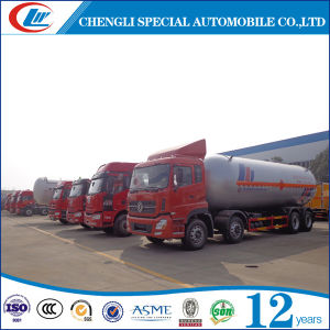 Factory Selling 35cbm 8*4 LPG Road Tanker Truck pictures & photos