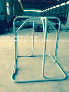 Factory Outlet Silvery Square Base Steel Wire Carrier pictures & photos
