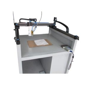 3 Axis Hot Melt Glue Dispensing Machine for Operation Coat pictures & photos