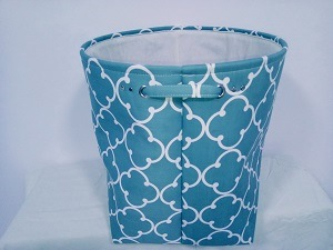 Canvas Round Laundry Hamper with 2 Handles and EVA Insidesize: Dia45X45cm pictures & photos