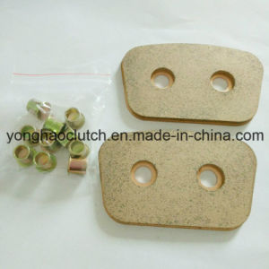 Bhg Ceramic Clutch Button with Hole Through Rivets T2 pictures & photos