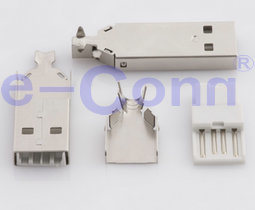 USB 2.0 a Type Solder Connector pictures & photos
