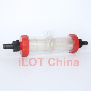 Ilot Hose Connect Plastic Transparent Filter Mesh Bottle pictures & photos