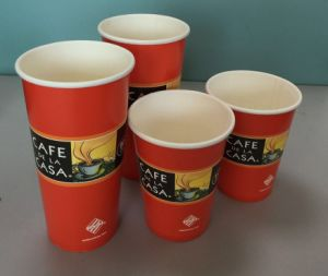 Customized Single Wall Paper Cups for Coffee/Juice/Tea pictures & photos