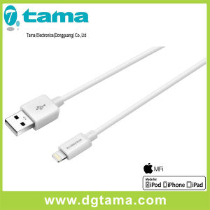 2.2m USB Flat Mfi Certificated iPhone iPad and iPod Cable pictures & photos