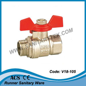 Female Thread ISO228 Brass Ball Valve (V20-013) pictures & photos