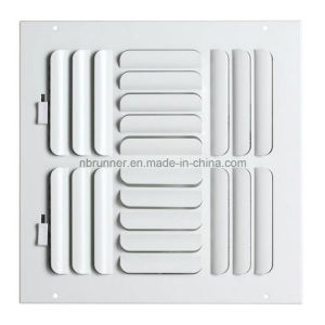 Sidewall / Ceiling Register 4-Way Curved Blade (302104) pictures & photos