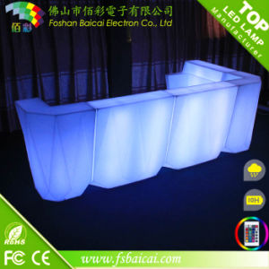 Glowing Table LED Furniture LED Bar Counter
