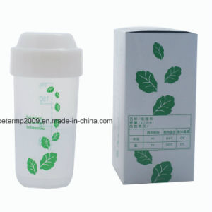 BPA Free Protein Shaker Cup with Small Size 250ml 10oz PP Material pictures & photos
