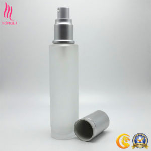 Empty Frosted Cosmetic Spray Bottle with Toner pictures & photos