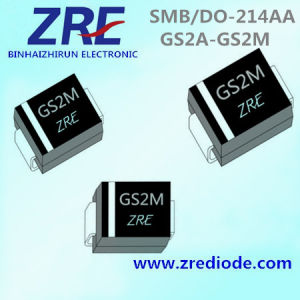 2A GS2a Thru GS2m General Purpose Rectifiers Diode SMB/Do-214AA Package pictures & photos