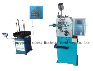 2 Axes Automatic Metal Cylinder Spring Coiler Machine pictures & photos