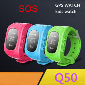 Kid Wristwatch Q50 GPS Tracker Anti-Lost Sos Smartwatch for Ios Android pictures & photos
