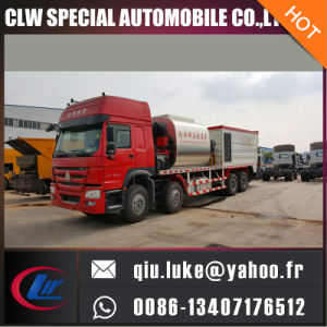 Hot Sale China Brand Low Price Synchronous Chip Sealer Truck for Sale pictures & photos