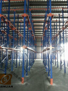 Heavy Duty Shuttle Racking Pallet Rack pictures & photos