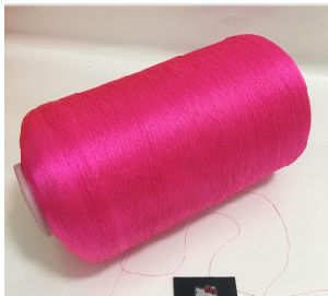 75D DTY Semi Dull Red Polyester Yarn for Wholesale pictures & photos