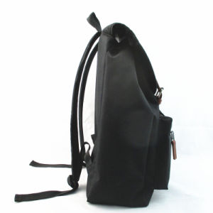 Unisex Black Leisure Drawstring Backpack pictures & photos