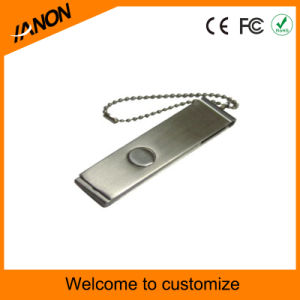 Silver USB Flash Memory Metal USB Flash Drive pictures & photos