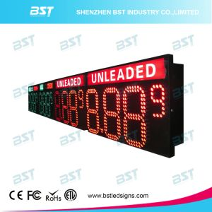Large Outdoor Waterproof LED Gas Price Sign for Gas Price Changer pictures & photos