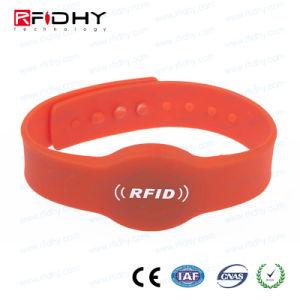 MIFARE DESFire D21 D41 D81 RFID Silicon Bracelet pictures & photos