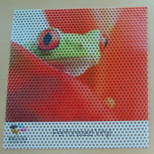 Perforated Vinyl Advertising Window Glass One Way Vision Sticker pictures & photos
