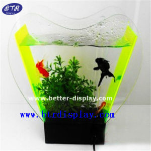 Acrylic Fish Shaped Fish Tank Fish Bowl (BTR-S2086) pictures & photos