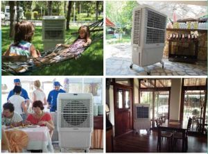 Outdoor Water Cooling Fan Portable Air Cooler pictures & photos