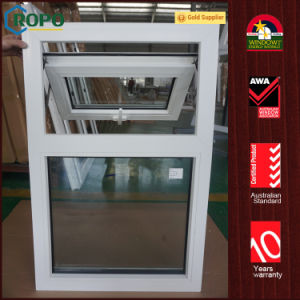 German Rehau PVC Awning Window, UPVC Top Hung Window pictures & photos