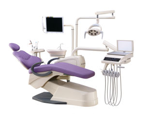 Luxury Integral Dental Equipment Chair with All Options pictures & photos
