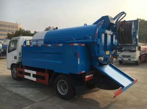 Combined Suction and Jetting Sewage Cleaner Truck pictures & photos