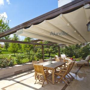 PVC Fabric Gazebo Roof Waterproof Retractable Awning