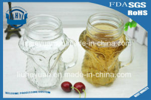 Creative Handle Glass Cup Fox Shape