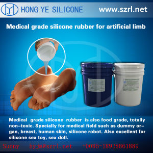 Liquid Skin Safe Silicone for Lifecastings Adult Rubber Dolls pictures & photos