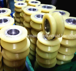Urethane Wheel with V Groove pictures & photos