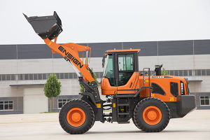 China Famous Brand 3ton Front Articulated Wheel Loader with Rops & Fops pictures & photos