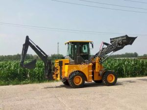 High Quality Multi-Function Mini Backhoe Loader (WZ15-10) with Ce, SGS pictures & photos