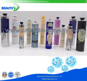 Cosmetic Skin Care Hand Cream Empty Aluminum Collapsible Packaging Tube pictures & photos