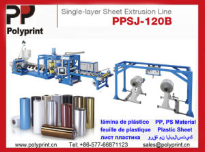 Automatic Plastic Sheet Extrusion Machine pictures & photos